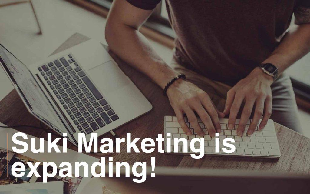 Suki Marketing is expanding team