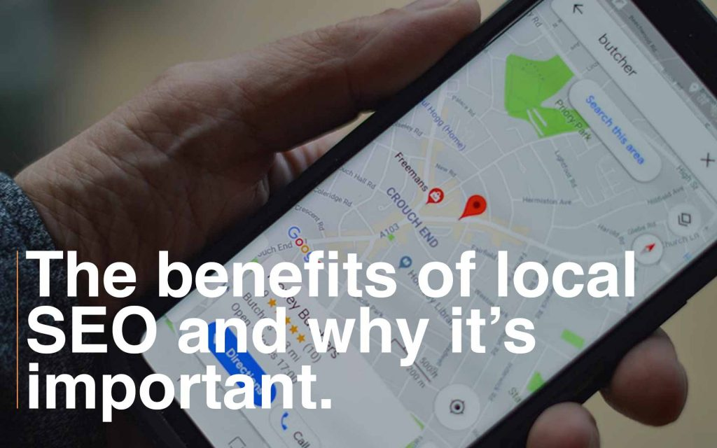 importance of local SEO and how to show up online