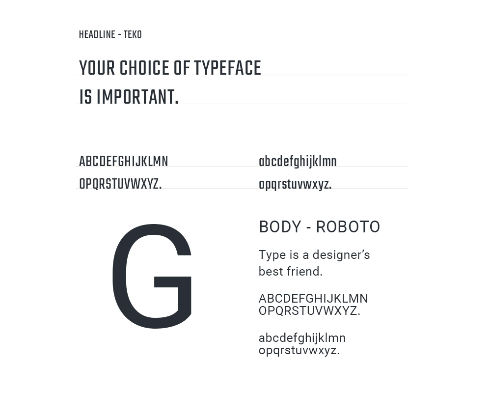 Guiller Branding Typography Web Design