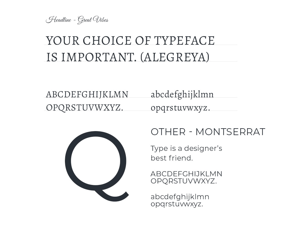 Quinncess Boutique Branding Typography Web Design