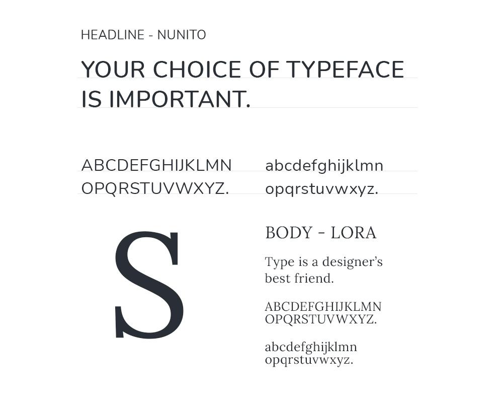 Typography Snapdragon Recruitment Website