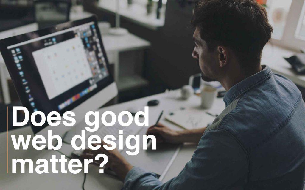 does good web design matter