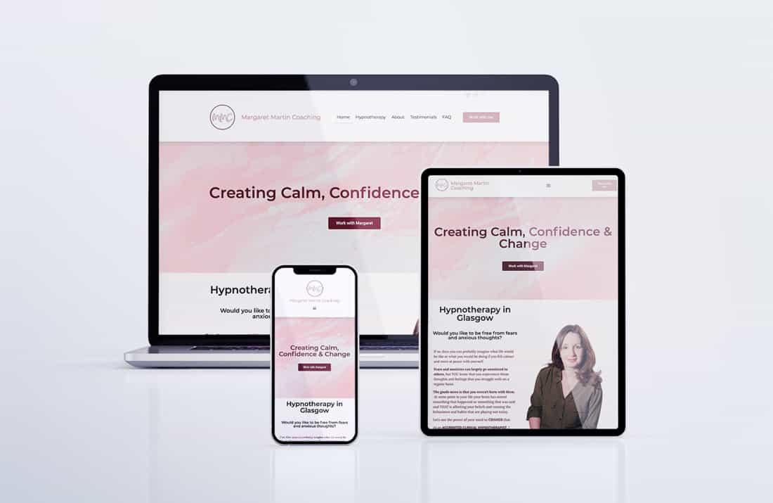 Margaret Martin Coaching Web Design Suki Marketing