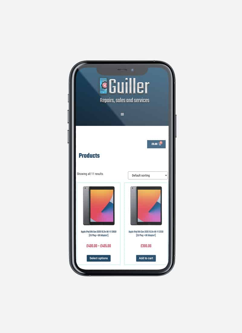 Guiller Web Design Suki Marketing